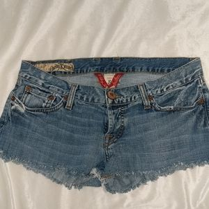Lucky Brand blue jean shorts size 10